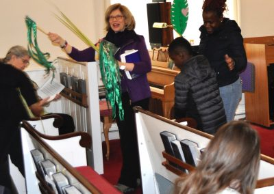 Procession of the Palms on Palm Sunday